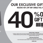 DEAL: Spotlight – 40% off Any Single Full Priced Item (until 25 June 2017)